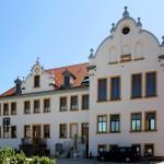 Schloss Löpitz. Hofansicht