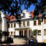 Schloss Löpitz, Parkansicht