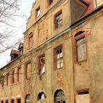 Herrenhaus Lossa, Hofseite, Giebel