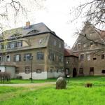 Herrenhaus Lossa, Ansicht von Westen