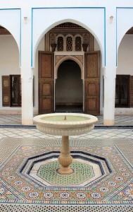 Brunnen im Bahia-Palast