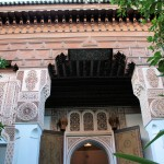 Schnitzereien im Bahia-Palast