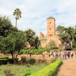 In der Burg (Kasbah) in Rabat