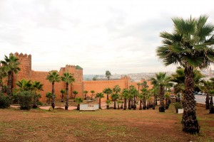 Die Kasbah (Burg) in Rabat