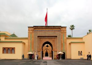 Tor zum Königspalast in Rabat