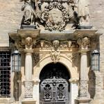 Schloss Merseburg, Portal im Schlosshof