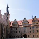 Schloss Merseburg, Westflügel