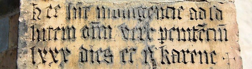 mittelalter-inschrift