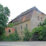 Ruinöses Herrenhaus in Mannschatz