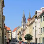 In der Altstadt von Oschatz