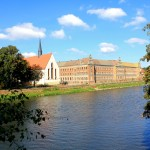 Grimma, Augustinerkirche und Gymnasium St. Augustin