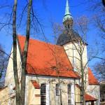Die Kirche in Burkartshain