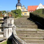 Im Schlosspark Thallwitz