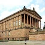 Die Alte Nationalgalerie auf der Museumsinsel in Berlin