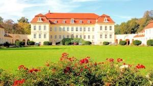 Schloss Nischwitz an der Mulde bei Leipzig