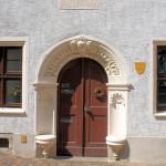Portal des Alten Rektorats am Kirchplatz