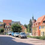 Altmarkt, Blick zur Franziskaner-Klosterkirche