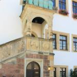 Freitreppe am Rathaus