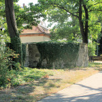 Schalenturm der Zwingermauer