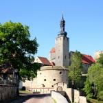 Burg Querfurt, Ansicht von Osten