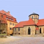 Burg Querfurt, Burgkirche und Fürstenhaus