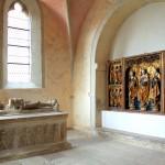 Burg Querfurt, Burgkirche, Grabkapelle