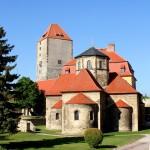 Burg Querfurt, Burghof mit Burgkirche und Marterturm