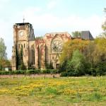 Die Kirchenruine in Wachau