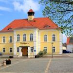 Das Rathaus in Liebertwolkwitz