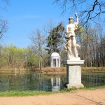 Im Schlosspark Lützschena