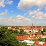 Blick von der Ilburg über Eilenburg
