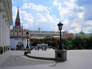 Nördlicher Zugang zum Kreml
