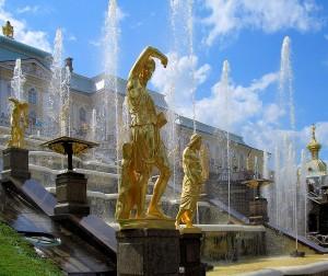 Große Kaskade und Palast
