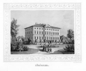 Schloss Zöbigker 1854