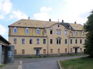 Rittergut Altoschatz, Herrenhaus Hofansicht