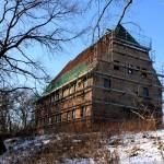 Rittergut Altscherbitz, Herrenhaus (Zustand Januar 2012)