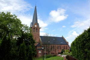 Ev. Kirche in Annarode, Landkreis Mansfeld-Südharz