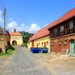 Rittergut Böhlen/Mulde, Gutshof und Torhaus
