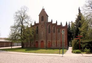 Bad Salzelmen, Kapelle auf der Burg Schadeleben