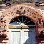 Beucha (bei Bad Lausick), Portal des Alten Herrenhauses