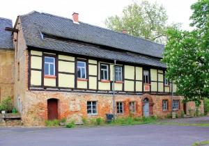 Beucha (Bad Lauisck), Rittergut, Altes Herrenhaus