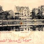 Rittergut Böhlen, Herrenhaus (um 1900)