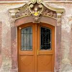 Rittergut Böhlen, Herrenhaus, Portal
