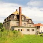 Rittergut Böhlen, Herrenhaus, Rückansicht