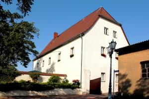 Rittergut Collmen, Herrenhaus, Rückansicht
