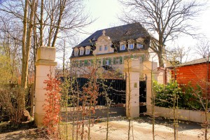 Böhlitz Ehrenberg, Rittergut Barneck, Herrenhaus Nordseite
