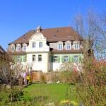 Böhlitz Ehrenberg, Rittergut Barneck, Herrenhaus Südseite