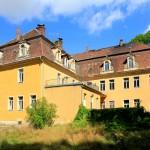 Schloss Börln, Rückansicht