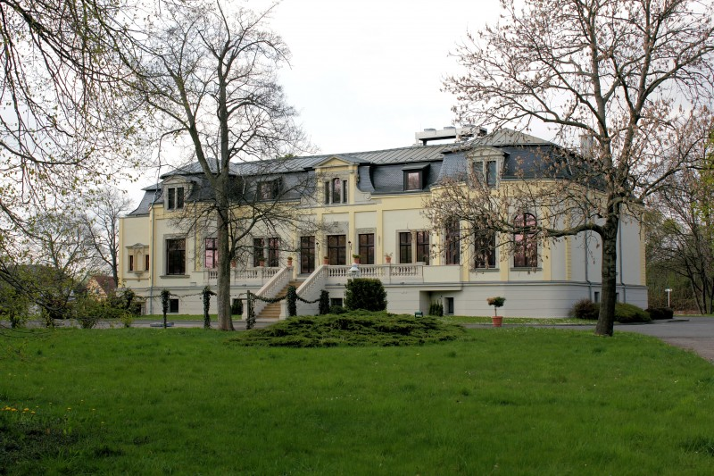 Rittergut Breitenfeld, Neues Schloss (Stadt Leipzig) › Sachsen ...