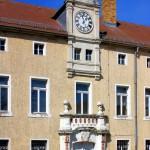 Schloss Burgkemnitz, Portal Westflügel